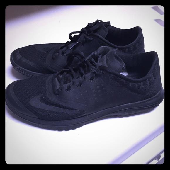 Nike Shoes | Womens Nike Solid Black